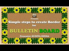 Diwali Decoration Ideas For School Bulletin Board : Simple steps to create BORDERS for Bulletin boards in school Borders For Board, Boarders For Bulletin Boards, Flower Bulletin Boards, Creative Bulletin Boards, Elementary Bulletin Boards, Bulletin Board Design, Classroom Bulletin Boards, Classroom Decor, Classroom Displays
