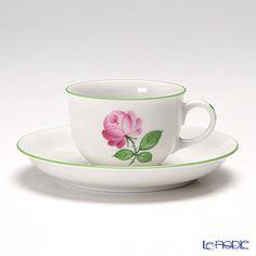 アウガルテン(AUGARTEN) ウィンナーローズ(5089) コーヒーカップ&ソーサー 0.2L(001)