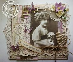 6002/0359 Noor! Design Vintage Border door Tiets Wolfard