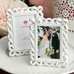 50 Beautiful White Picture Frames Place Card Holder Wedding Favor Event Bulk Lot | eBay