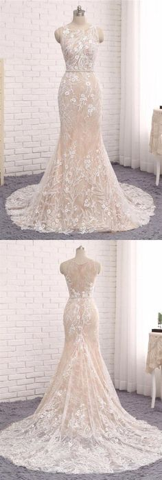 Buy Princess Mermaid Lace Appliques Scoop Straps Ivory Wedding Dresses, Bridal Dresses in uk.Rock one of the season's hottest looks in a burgundy homecoming dress or choose a timeless classic little black dress. Wedding Dress Train, Wedding Dresses 2018, Bohemian Wedding Dresses, Prom Dresses Online, Wedding Dresses Plus Size, Bridal Dresses, Mermaid Dresses, Lace Mermaid, Mermaid Wedding