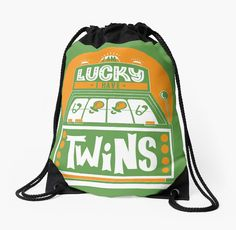 I am Lucky! I have Twins  by multiplesandmore Twins gifts. Available for order now.