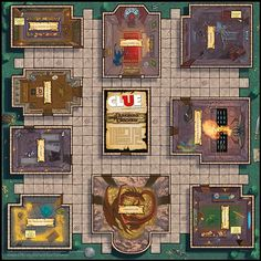 Dungeons and Dragons Clue - Interesting module idea though...