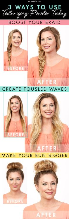 The secret to va-va-voom hair? Texturizing powder!