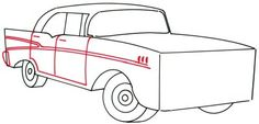 With its 1950s styling, the 1957 Chevy is a timeless car. This article will show you how to draw this cool classic car in just five simple steps.