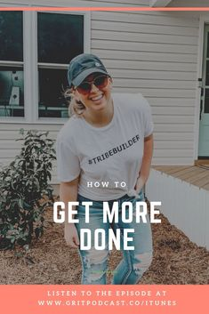 "Have you ever gotten to the end of the day and thought, ""What have I done all day?!?"" Oh girl, me too. Its so easy to get sucked into life and not get the things done we need to get done in the time we have so today Im going to chat about how to get more done, how to create more time in your day and how to make sure the right things are happening so you feel accomplished and ready to take on the world."