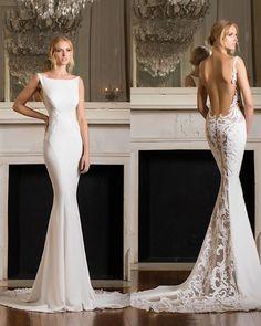 Featured Dress: Pnina Tornai; Wedding dress idea. #weddinggowns