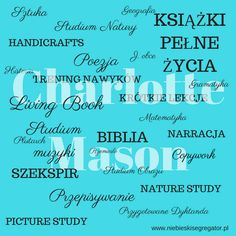 Charlotte Mason - skrócony przegląd metody nauczania - Niebieski Segregator Charlotte Mason, Geography, Bible