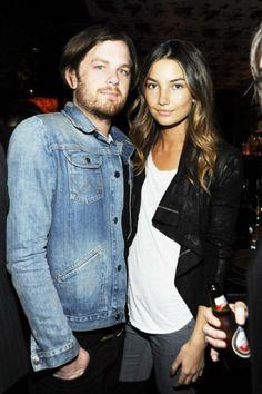 lily aldridge caleb followill | Caleb Followill and Lily Aldridge - Famous Rockstar Couples - Photos ...