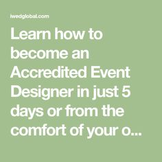 Learn how to become an Accredited Event Designer in just 5 days or from the comfort of your own home. We teach all the necessary techniques and skills so you can create beautiful backdrops, ceiling drapings, tabletop design, canopies & more!