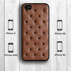Ice Cream Sandwich iPhone 5S Case, Creative Food iPhone 5C Case iPhone 5 Case iPhone 4S Back Cover --000010 on Etsy, $9.99