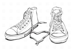 Sneakers, 1941, Beauty, Fashion, download Royalty free vector ...