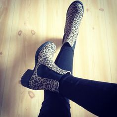 #KMB #booties #leopard #shoesmadeinspain #MadeinSpain #instagram #AutumnWinter