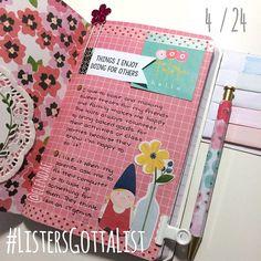 #ListersGottaList - April 24 - Scrapbook.com
