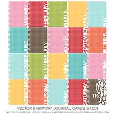 Everyday Journal Cards