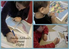 Amelia Earhart's Famous Flights: A Sample Lesson Plan