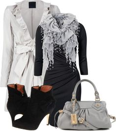 """""""Silver Bells"""" by corvettegal99 ❤ liked on Polyvore"""