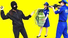 Super ladrão Ovo surpresa Granadas Ataque Polícia super#Kids Toys Candy ...
