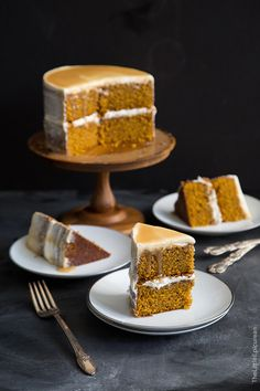 Butterscotch Pumpkin Cake