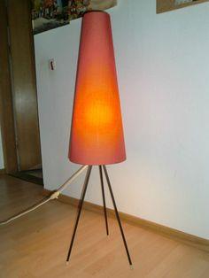 60er-KERAMIK-STEHLAMPE-LEUCHTE-LAMPE-GERMAN-CERAMIC-FLOOR-LAMP-LIGHT ...