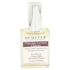 Demeter by Demeter Chocolate Covered Cherries Cologne Spray 1 oz