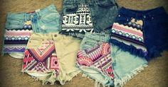 cute summer teen clothes girls beach   shorts # cute # fashion # pattern