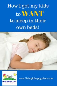 Simple trick I used to get my kids to sleep in their own beds... And it worked!