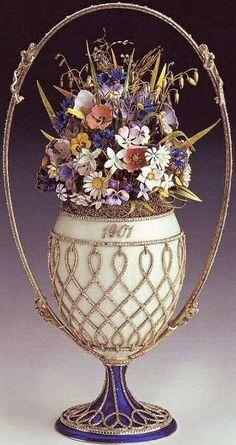 Gorgeous Faberge Egg Bouquet