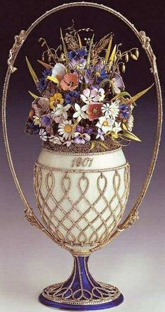 Gorgeous Faberge Egg Bouquet