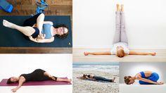 5 Yoga Poses for better sleep by Brett Larkin