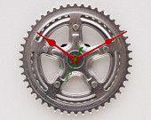 Bike cog clock