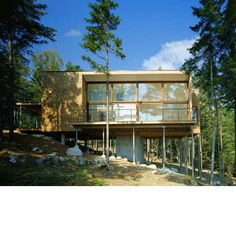 Writer's Studio | Mt. Desert Island, Maine | Carol A. Wilson Architect