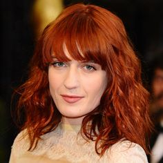 Florence Welsh: Copper: Hair Trend: Beauty