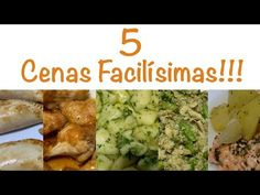 5 cenas fáciles y deliciosas para Monsieur Cuisine o Thermomix - YouTube Homemade Beauty Products, Wordpress Theme, Health Fitness, Food, Recipes, Tuna Patties, Chicken Wings, Tasty Food Recipes, Cooking Recipes