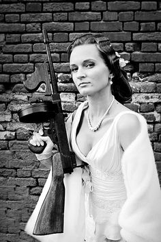 Gangster Style · Rock n Roll Bride - Riley/High School - Wedding Gangster Style, Gangster Wedding, Real Gangster, Mafia Gangster, Gangster Girl, Gangster Tattoos, Hollywood Glamour Party, Ma Baker, Style Rock