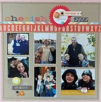 A Project by Jennifer L from our Scrapbooking Gallery originally submitted 12/30/12 at 08:18 PM