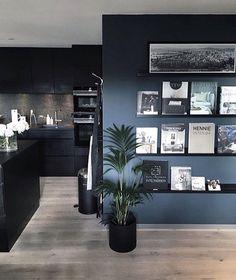 Modern Home Interior Design, Home Office Design, Interior Styling, House Design, Home Living Room, Living Room Designs, Living Room Decor, Dressing Room Design, Cuisines Design