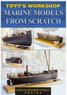 Building Marine Models From Scratch By Graham Castle Massively interesting book for anyone interested in ships. Highly recommended by Hobbies Model Ship Building, Boat Building, Titanic Model, Nautilus Submarine, Steam Boats, Model Boat Plans, Boat Kits, Boat Dock, Model Airplanes