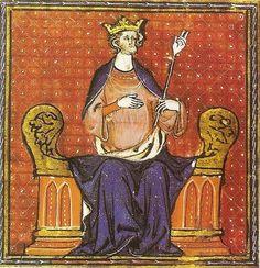 Premier roi des Francs de la Dynastie Capétienne, Hugues Ier de France.