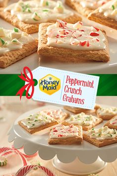 Be in pepper-mint condition for the holidays with this Peppermint Crunch Grahams recipe. Share this delectable dessert or other winter ideas from our #NabiscoHolidayRecipe list at www.snackworks.com Christmas Deserts, Holiday Desserts, Holiday Baking, Holiday Treats, Christmas Baking, Fun Desserts, Holiday Recipes, Delicious Desserts, Dessert Recipes