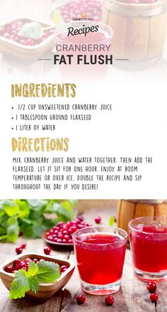 FAT FLUSH PLAN THEORY The goal of the Fat Flush Plan is to cleanse the liver. The liver is the main detoxifying organ in the body. According to the Fat Flush Plan the liver is also our premier fat-burning organ…Read more → Detox Diet Drinks, Detox Juice Cleanse, Healthy Drinks, Healthy Recipes, Detox Juices, Juice Recipes, Detox Recipes, Healthy Detox, Healthy Food