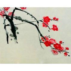 Qi Baishi Fleurs de Prunier