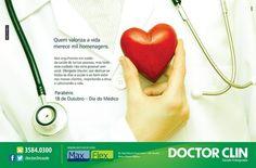 Dia do Médico Doctor Clin. #anuncio