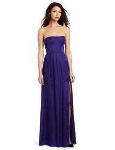 Bcbgmaxazria Women S Enyas Strapless Bustier Long Gown Strapless Bustier, Strapless Dress Formal, Formal Dresses, Bustier Top, Party Dresses, Purple Gowns, Purple Dress, High Fashion Dresses, Gowns Of Elegance