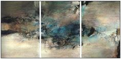 zao wou-ki Abstract Landscape, Abstract Art, Collages, Art Nouveau Architecture, Winter Art, Large Painting, Oeuvre D'art, Artist At Work, Art World