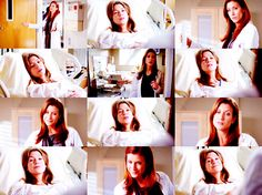 MEREDITH: Addison! Dr. Montgomery-Shepherd?  ADDISON: You bellowed, Dr. Grey?