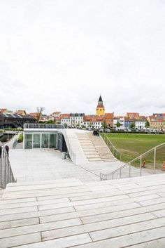 Harbor Bath joins the inner city to the waterfront of Faaborg, Denmark. Click image for link to full profile and visit the slowottawa.ca boards >> https://www.pinterest.com/slowottawa/boards/
