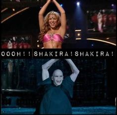 shakira-the longer you look at this the funnier it is!