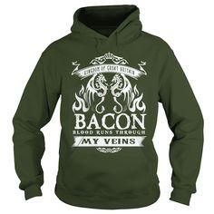 Bacon BLOOD RUNS THOUGH MY VEINS