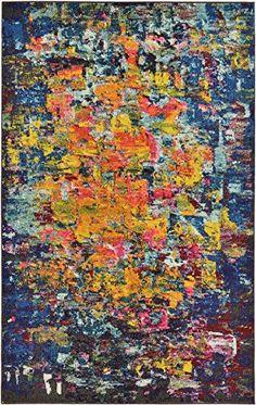 Modern Art Abstract Rugs Multi 4' 11 x 8' FT (152cm x 244... https://smile.amazon.com/dp/B01JLX7R02/ref=cm_sw_r_pi_dp_U_x_rKXLAbEEG4EHD